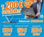 Jetzt bis zu 200€ Rabatt auf ausgewählte HP Notebooks bei notebookbilliger.de!