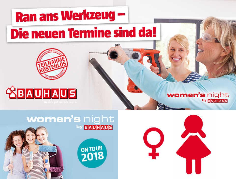 Bauhaus Womens Night Handwerkerkurse Für Frauen