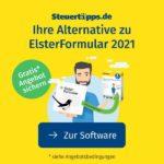 """GRATIS *""""SteuerSparErklärung 2021""""* für Nutzer von """"ElsterFormular"""" von Akademischer Arbeitsgemeinschaft"""
