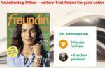 kiosk.news: Schnupper-Abo abschließen, Amazon-Gutschein abstauben und rechnerisch bis zu 1,80€ Gewinn machen (freundin-Abo)