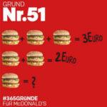 *Nur am 22.02.* Big Mac für 1 € mit der McDonalds App