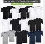 2 er Pack U.S. Polo Assn. T-Shirts für 9,99€