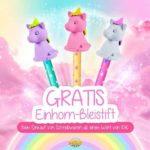 Gratis Einhornstift ab 10€ Schreibwaren Einkauf (GLOBUS)