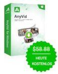 AmoyShare AnyVid - HD Videodownloader&Konverter GRATIS statt 58,88$