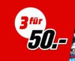 MediaMarkt: 3 x 4K UHD Blu-rays für 50€
