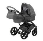 Knorr-Baby Kombikinderwagen Voletto 3in1 Tupfen grau-weiß für 263,99€ (statt 664€)