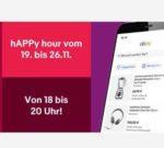 eBay: 10%-Gutschein für die App - Happy Hour täglich 18-20 Uhr