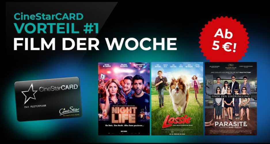 Cinestar Film Der Woche