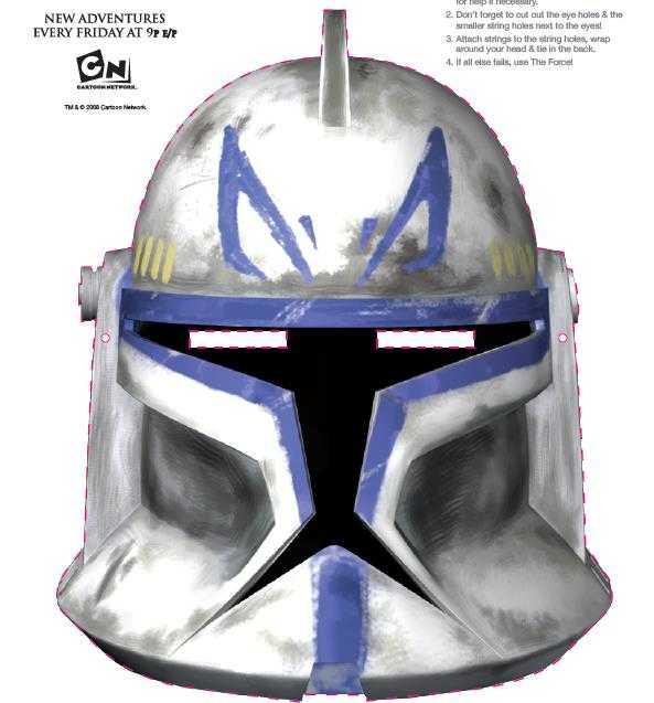 Gratis Star Wars Masken zum Ausdrucken