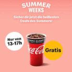 Coca-Cola gratis bei McDonald's (nur heute 13-17 Uhr)