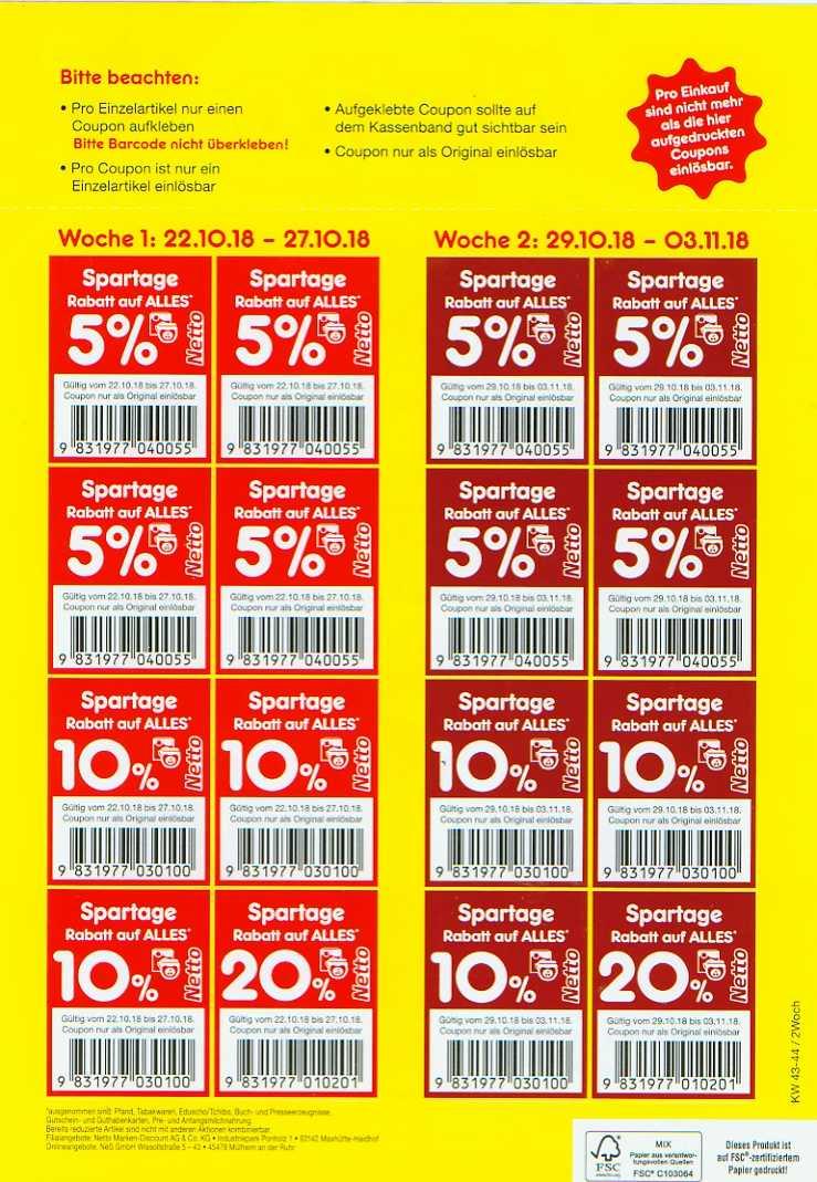netto coupon aktion