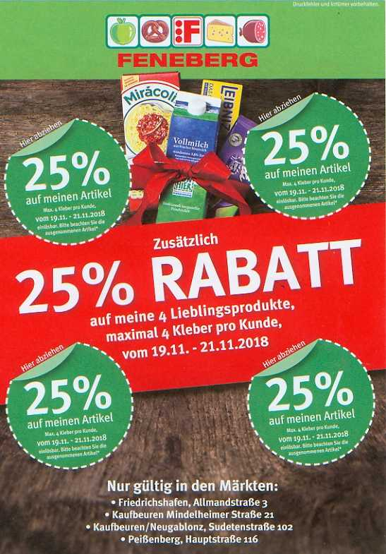 Feneberg Werbung