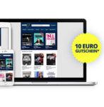 Eventim: 10€ Gutschein für Newsletteranmeldung mit 60€ MBW