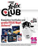 Felix Club: gratis Felix Keramik-Napf bei Kauf von Felix-Produkten im Wert von mind. 12€ bei SuperPet