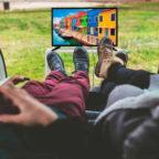 Fernsehen-im-Freien
