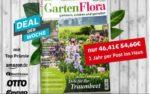Deutsche Post Leserservice: GartenFlora für nur 1,41€ als Prämienabo im Deal der Woche (54,60€ - 8,19€ Gutschein - bis zu 45€ Prämie)