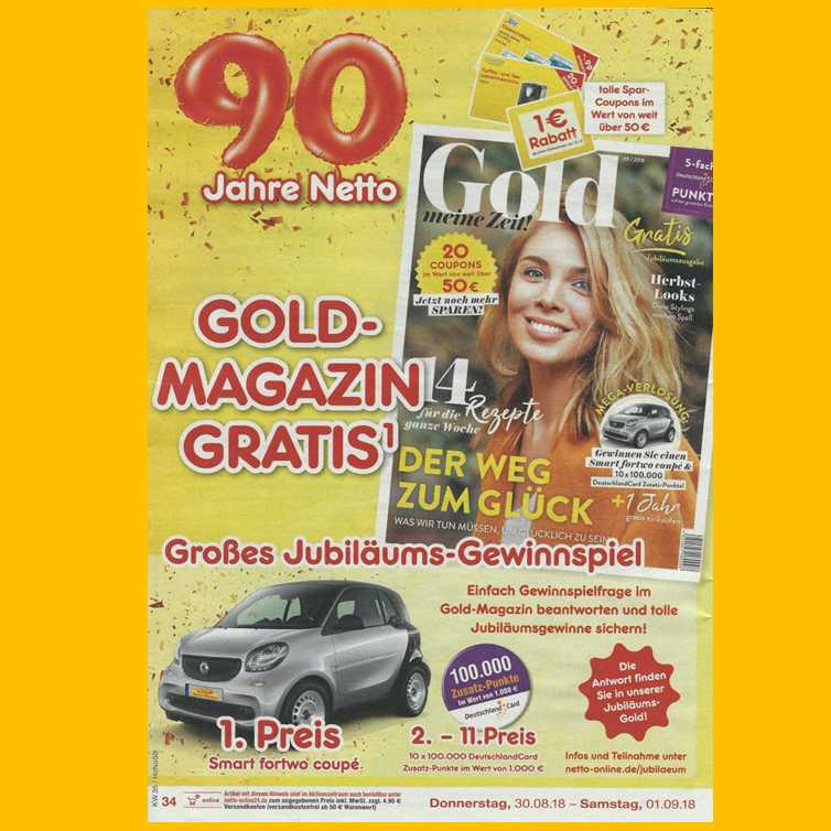 netto coupons gold
