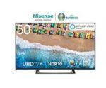 50'' UHD Smart TV Hisense H50BE7200 für 288€ (statt 345€)