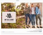 10€ Rabatt auf eine Jeans bei Orsay