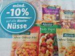 [Lidl ab 22.10.] mind. 10% auf alle Nüsse der Marke Alesto