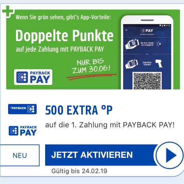 500 PUNKTE PAYBACK