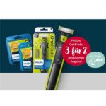Bei Rossmann: 3 Philips OneBlade Artikel kaufen nur 2 bezahlen