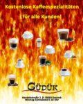 Kostenlose Kaffeespezialitäten in Rostock