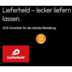 """GRATIS: 10€ Lieferheld Gutschein """"geschenkt"""" bei Mastercard Priceless Special"""