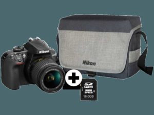 NIKON-D3400-Kit-Spiegelreflexkamera-inkl.-Tasche–16GB-Speicherkarte–24