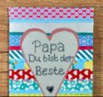 Gratis Postkarte verschicken mit der Postando App, zb. zum Vatertag.