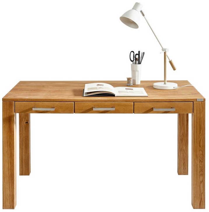 Schreibtisch eiche massiv f r 159 for Schreibtisch eiche massiv