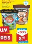 2 Becher Ben & Jerry's Eis für 1,87€ (je 0,94€) am 25.9. [Netto + marktguru]