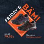 SportScheck: Fridays Bäm, z.B. Salomon Multisportschuhe für Damen und Herren