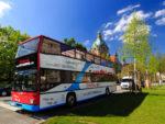 Lokal: 2:1 Aktion für Stadttouren im Doppeldeckerbus oder zu Fuß in Hannover
