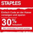 Staples-Rabatt
