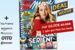 Deutsche Post Leserservice: TV Movie gratis als Prämienabo im Deal der Woche (65€ - 5€ Gutschein - bis zu 60€ Prämie)