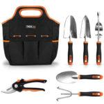 Gartenwerkzeug-Set + Werkzeugbeutel für 25,79€ (statt 42€) von Tacklife