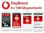 """Vodafone """"DayBoost"""": *6 x 100 GB geschenkt* vom 18.02. - 31.07.2019"""