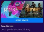 Gratis Epic Games bis 22.08.2019: Hyper Light Drifter / Mutant Year Zero: Road to Eden