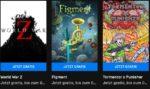 """""""World War Z"""" + """" Figment"""" + """"Tormentor X Punisher"""" kostenlos downloaden + 7 weitere Spiele kostenlos im Epic Games Store"""