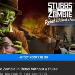 """Endet ⏰ GRATIS: """"Stubbs the Zombie in Rebel Without a Pulse"""" & """"Epic-Paket für Paladins"""""""