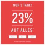 Tom Tailor - 23% auf Alles (auch Sale) -  nur noch heute!