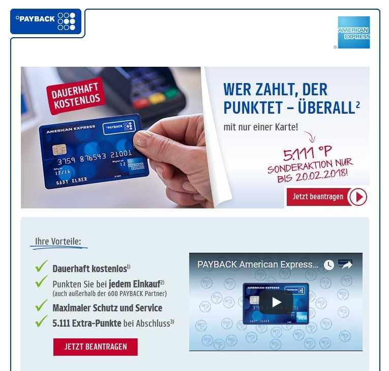 Payback Karte Beantragen.Neu Payback American Express Kreditkarte Jetzt Mit 5111 Punkten