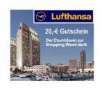 Lufthansa: 20€ Gutschein für den nächsten Flug