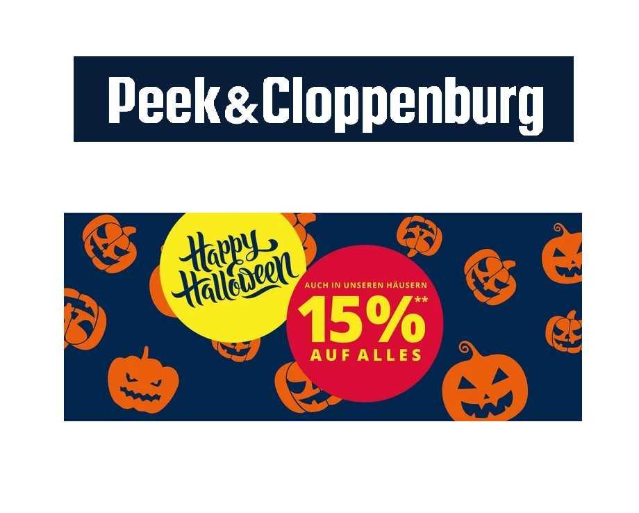 de110132eabcfc Halloween bei Peek Cloppenburg  15% Rabatt auf ALLES! (99€ MBW)