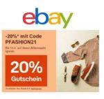 *endet* 20% Rabatt auf Fashion, Sport, Beauty & Gesundheit sowie Uhren & Schmuck