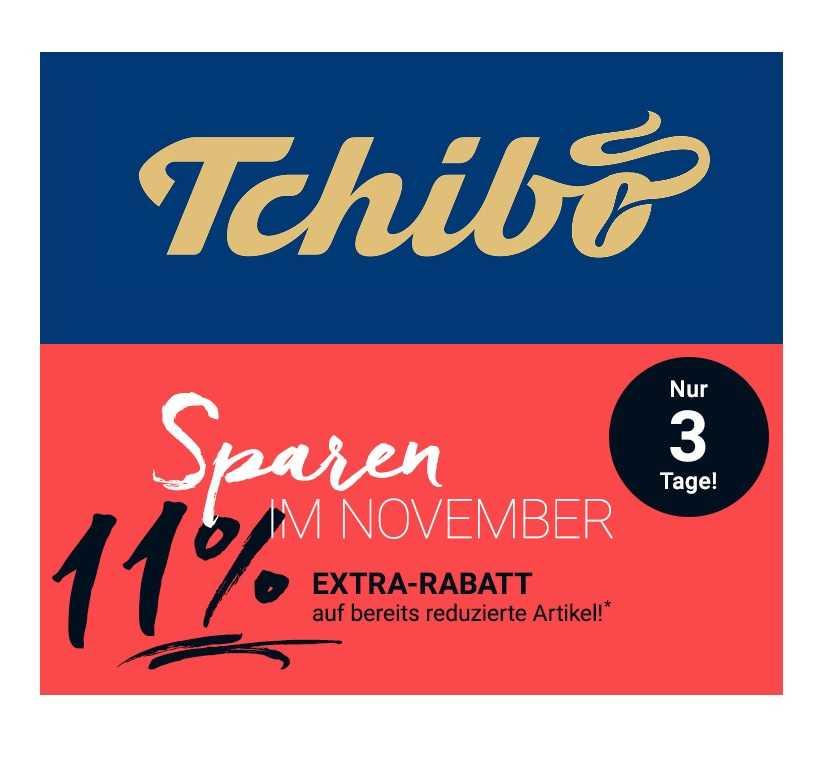 33810a122ca332 Jetzt bei Tchibo  11% Extra-Rabatt im Sale - nur bis 10.11.