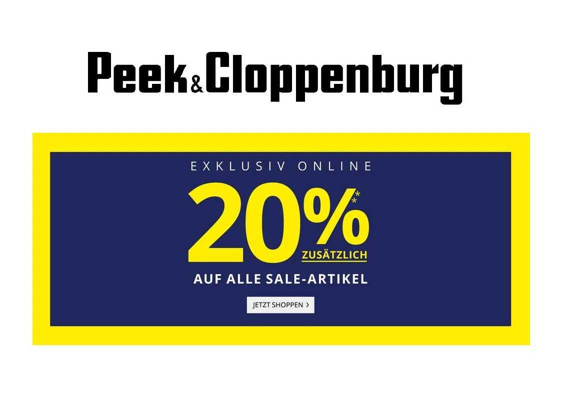 20% Rabatt bei Peek & Cloppenburg