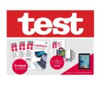 """Das """"test"""" Abo Paket: 3 Ausgaben """"test"""" + """"test"""" Jahrbuch 2019 + Archiv-CD 2018 für 9,90€ (statt 54€)"""