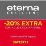 Eterna Sale: Bis zu 50% reduziert & 20% Extra-Rabatt!